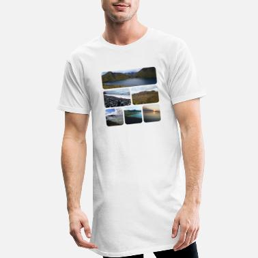 Miracle Design Merveilles de la nature - T-shirt long Homme