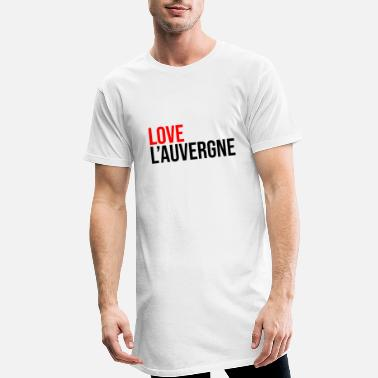 Discovery love Auvergne French region France - Men's Long T-Shirt
