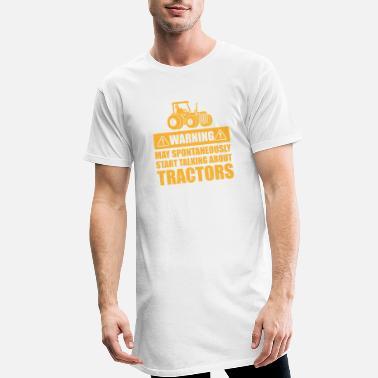 Avertissement peut spontanément commencer à parler de tracteurs T Shirt