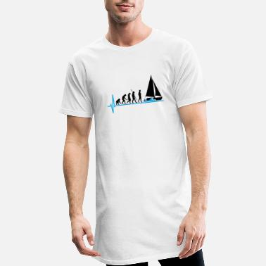 Sail Boat Sailing Evolution Sail boat - Men's Long T-Shirt