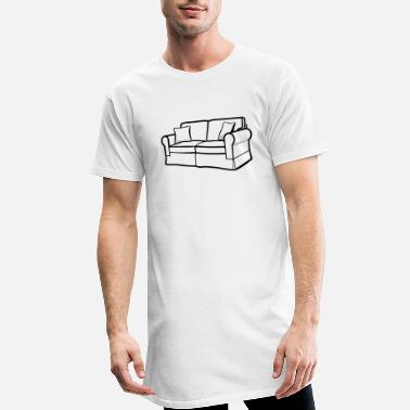 Couch couch - Men's Long T-Shirt