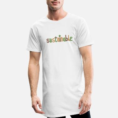 Sustainable sustainable - Men's Long T-Shirt