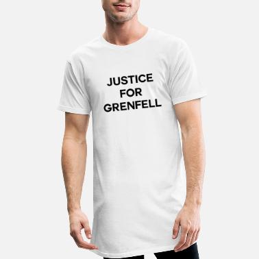 Grenfell Tower Justice For Grenfell - Men's Long T-Shirt