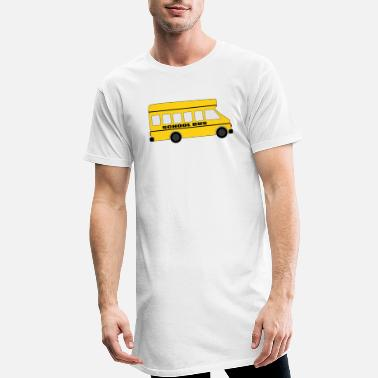 Sbahn school bus coach omnibus school bus traffic4 - Men's Long T-Shirt
