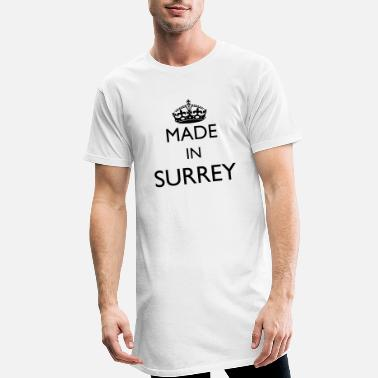 Personalise: Made In Surrey - Men's Long T-Shirt
