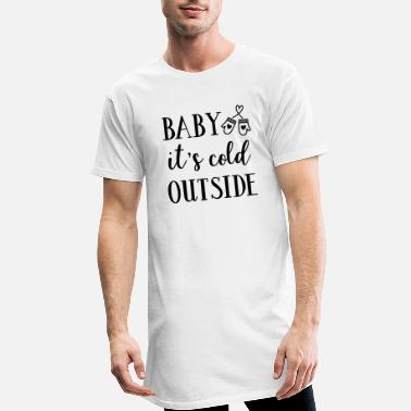 Winter Baby it is cold outside - Men's Long T-Shirt