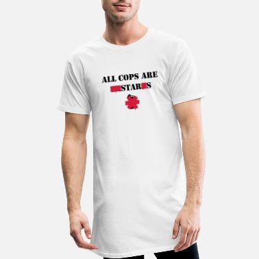 Satire ALL COPS ARE STARS - T-shirt long Homme