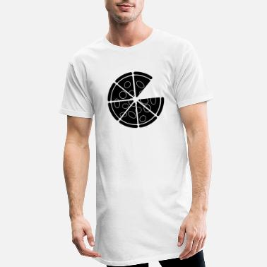 Copie pizza - T-shirt long Homme
