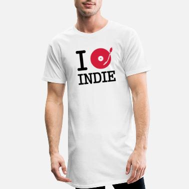 Tanzen I dj / play / listen to indie - Men's Long T-Shirt