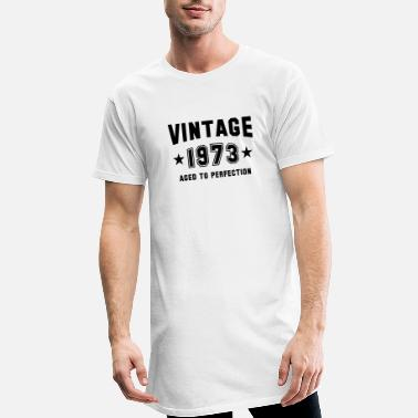 VINTAGE 1973 - Birthday - Aged To Perfection - Men's Long T-Shirt