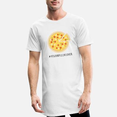 Vegan Pizza Lover - Men's Long T-Shirt