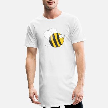 Bumble Bee Cool & Crazy Funny Bee / Bumble Bee (Sweet & Cute) - Men's Long T-Shirt