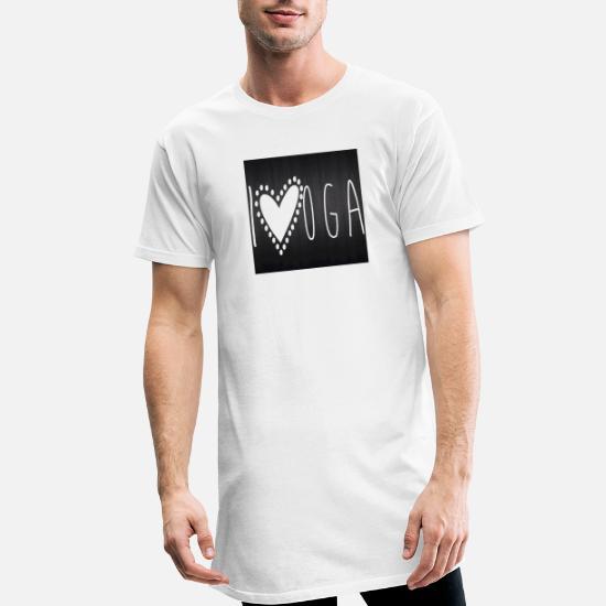 bilde Lang T skjorte for menn | Spreadshirt