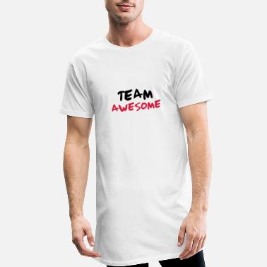 Team Awesome Team Awesome - Men's Long T-Shirt