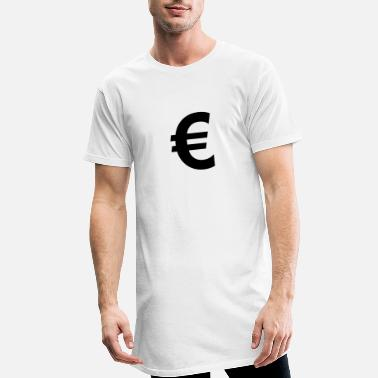 Euro Euro € - Men's Long T-Shirt