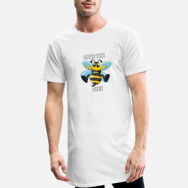 Honey Bee Bee Bees Honey Honey Bee Save Gift - Men's Long T-Shirt