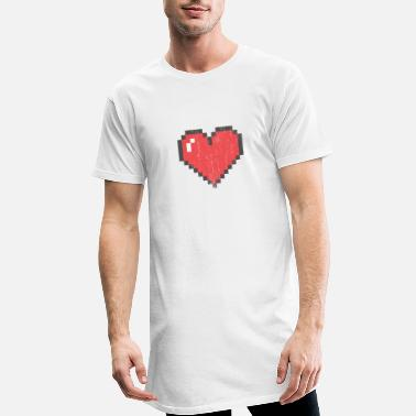 Heart, love - Men's Long T-Shirt