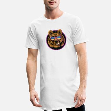 Bear, cool - Men's Long T-Shirt