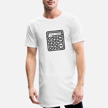 Error Pocket calculator - Calculator Syntax Error - Men's Long T-Shirt