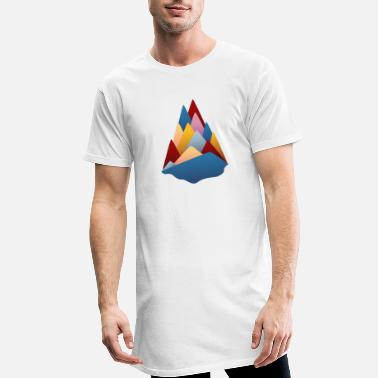 little mountains - Men's Long T-Shirt