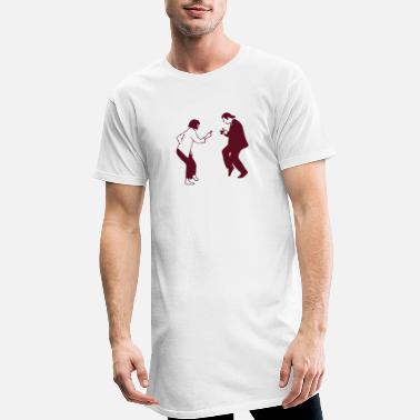 Fiction pulp fiction dancing pf06 - Männer Longshirt