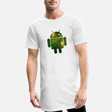 Android Android - Lang T-Shirt mænd