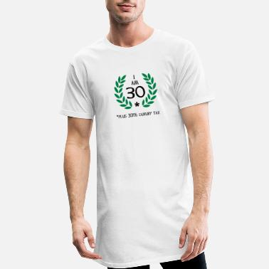 Wreath 40 - 30 plus tax - Men's Long T-Shirt
