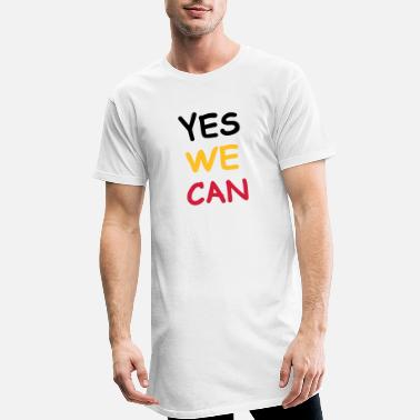 Yes We Can Yes we can - Maglietta lunga uomo