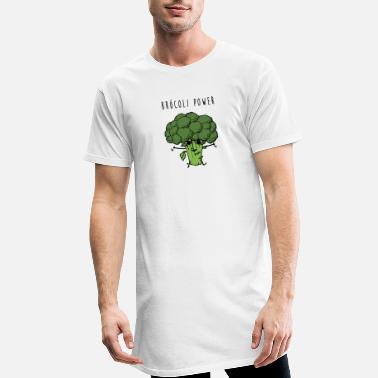 Brocoli Power - Men's Long T-Shirt