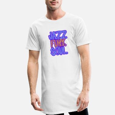 Jazz, Funk, Soul - Men's Long T-Shirt