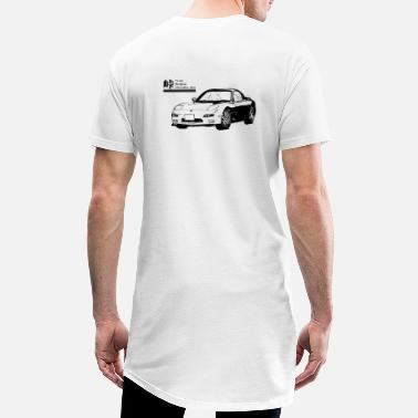 Touge FD savane - T-shirt long Homme