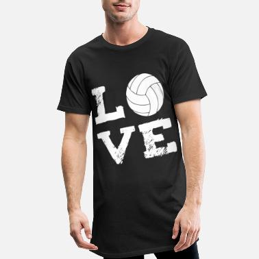 Volley Neonato LOVE - Volleyball - Maglietta lunga uomo