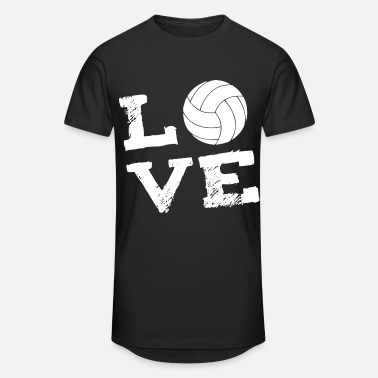 Love Volleyball LOVE - Volleyball - Men's Long Body Urban Tee