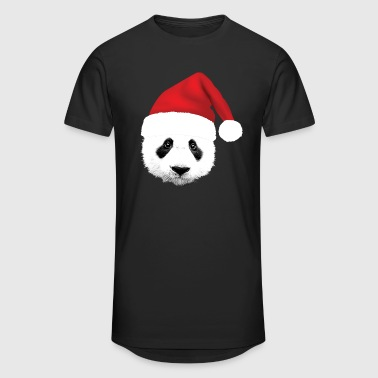 Panda Panda Panda Santa - Men's Long Body Urban Tee