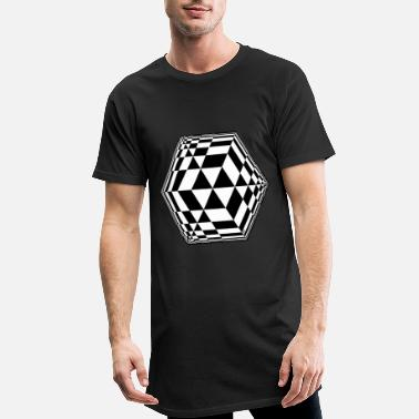 cube - Men's Long T-Shirt