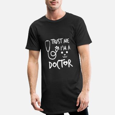 Funny Veterinary Trust me i'm a doctor - veterinary surgeon - Men's Long Body Urban Tee