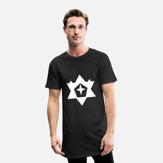 Shooting Star T-Shirts - A star - an asterisk - Men's Long T-Shirt black