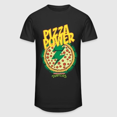 TMNT Turtles Pizza Power Shield - Miesten urbaani pitkäpaita
