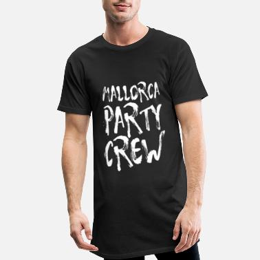 Party Mallorca Party Crew Party Holiday Drinking Malle - Lang T-skjorte for menn