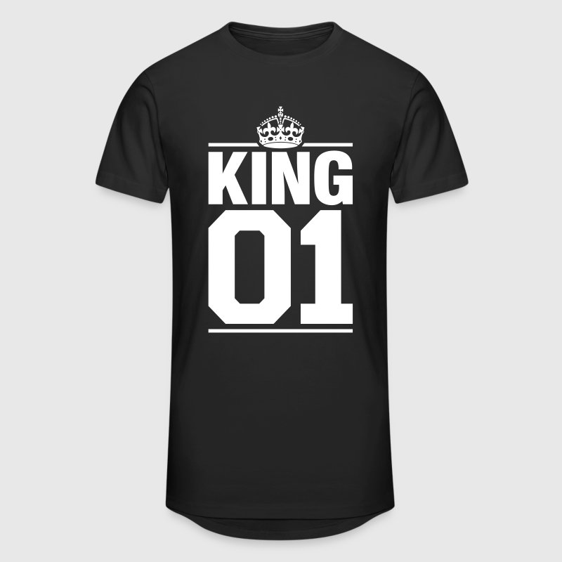 King 01 - T-shirt long Homme