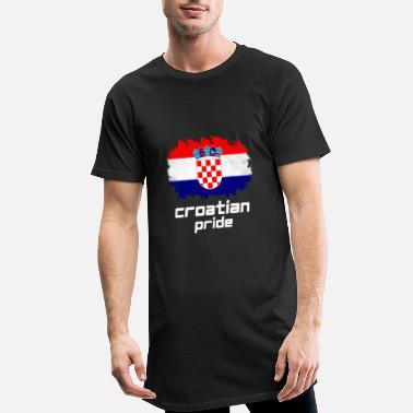Pride Croatian Pride - T-shirt long Homme