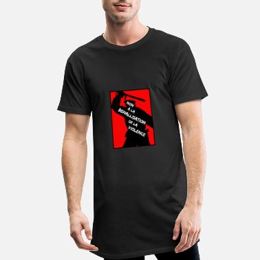 Police Violence NO TO THE BENALLIZATION OF VIOLENCE - Men's Long T-Shirt