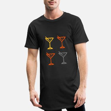 Cocktail Martini Boisson Mélangeur Bar Gastro Bar - T-shirt long Homme