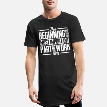 Philosophy Philosophy The Beginning - Men's Long T-Shirt