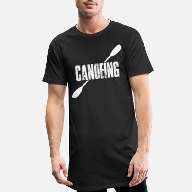Canoë Canoë Canoë Canoë Canoë - T-shirt long Homme