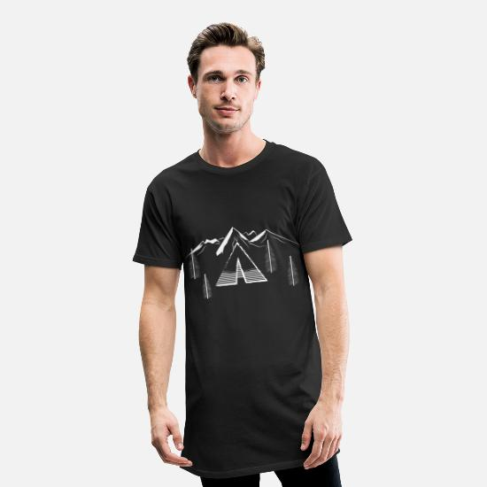 Gift Idea T-Shirts - vacation - Men's Long T-Shirt black