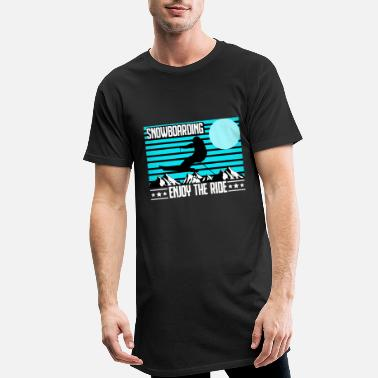 Parks And Recreation Snowboarding - snowboarding - winter sports - Men's Long T-Shirt
