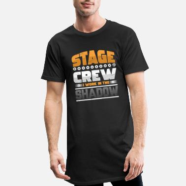 Acteur Stage Crew Light Engineer Backstage Concert Cadeau - Mannen Longshirt