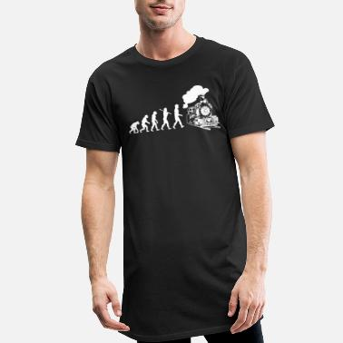 Trains Train trains train modèle - T-shirt long Homme