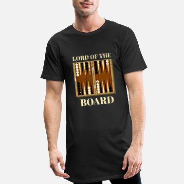 Backgammon board game saying for backgammon players - Men's Long T-Shirt